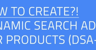 How to create dynamic search ads for products (DSA - P) in Google search