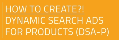 How to create dynamic search ads for products via BlueWinston.com