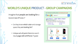 Why to focus on product-group campaigns in Google serach