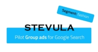 Pilot Group ads for fashion store Stevula in Google Search