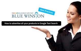 How to advertise all your products in Google Text Search (AdWords)