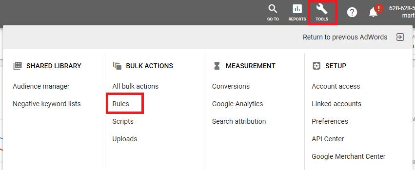 AdWords_Tools_Rules