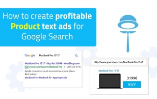 How to create product text ads for Google Search via programmatic AdWords tool - BlueWinston