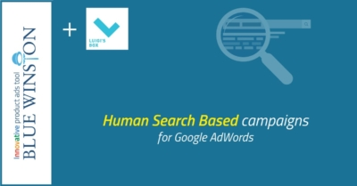 Human search based product campaigns for Google AdWords