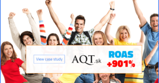 ROAS jumped thanks to product ads automation ppc Google Ads tool BlueWinston and Effectix online agency