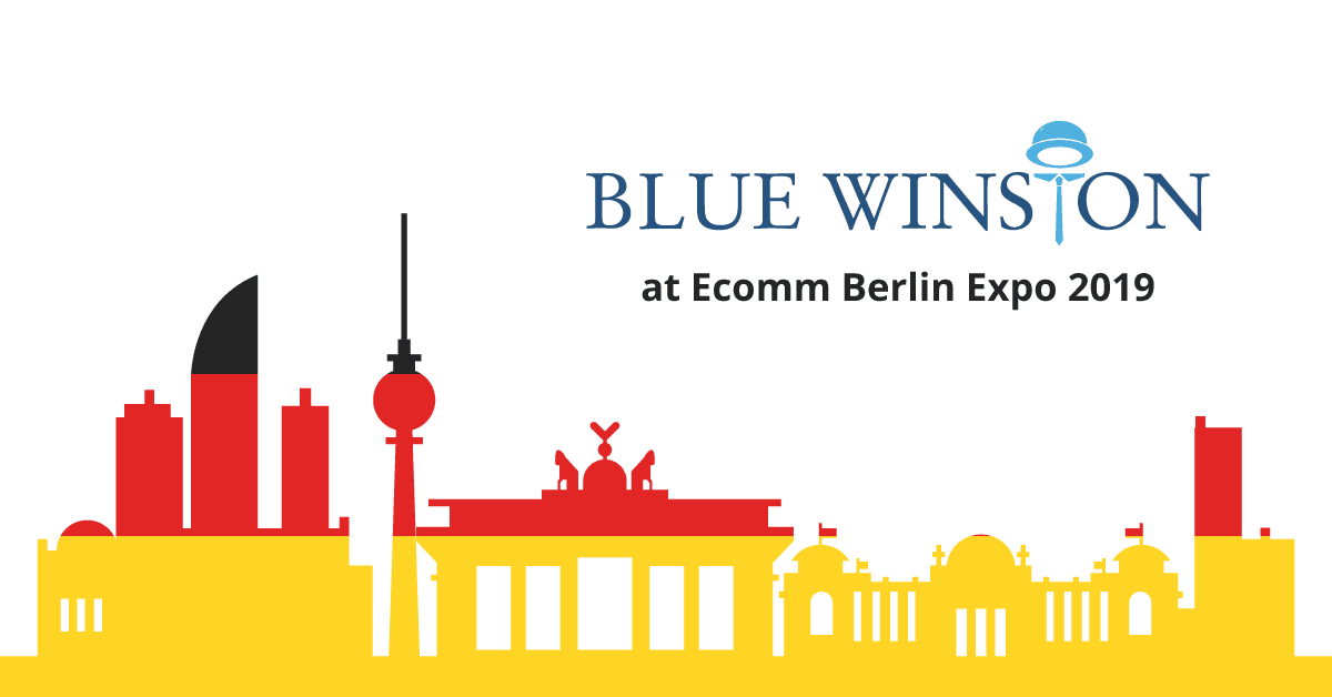 BlueWinston at E-Commerce Berlin Expo 2019