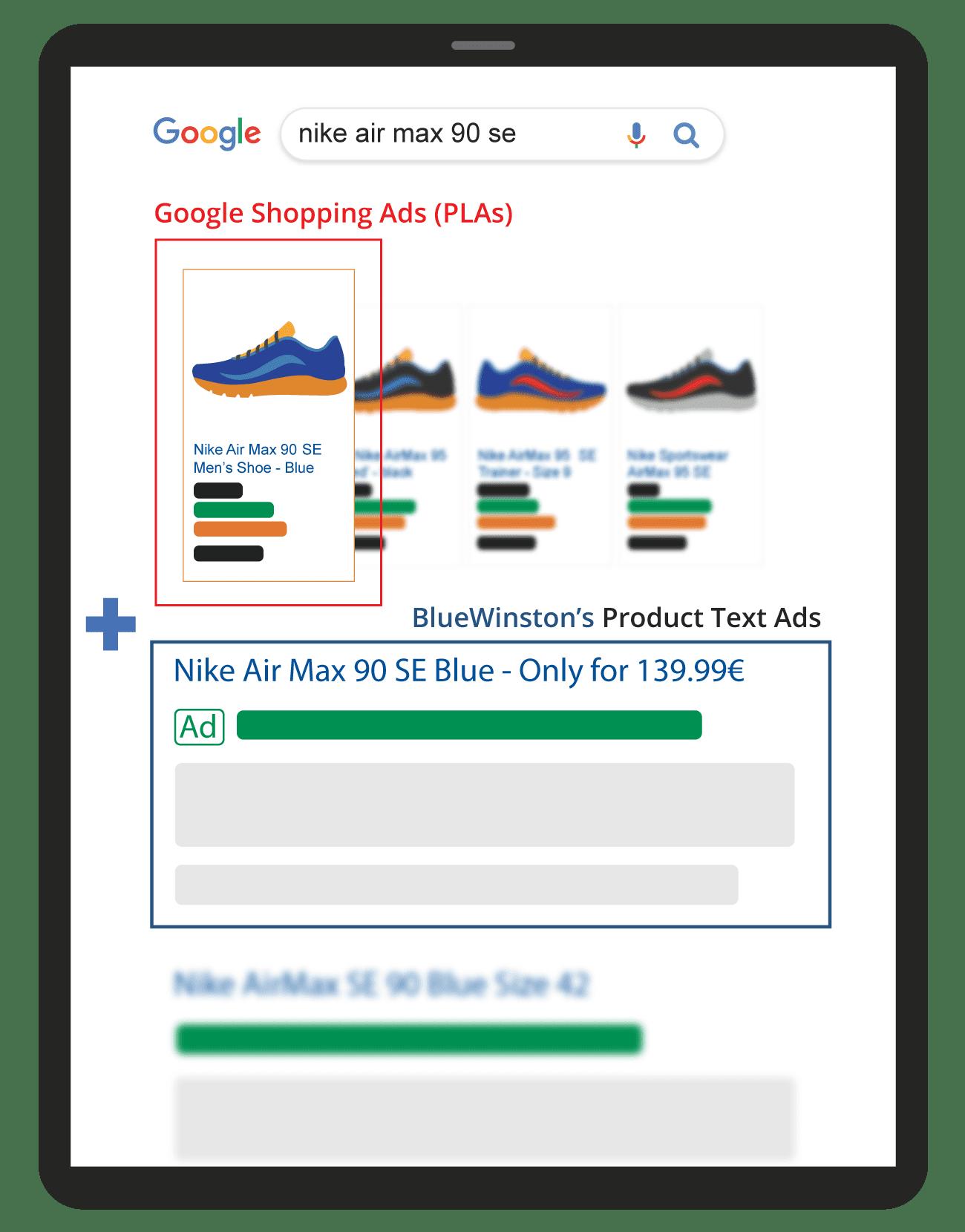 Reklamy v Nákupoch a Textové reklamy na produkty v Google Vyhľadávaní