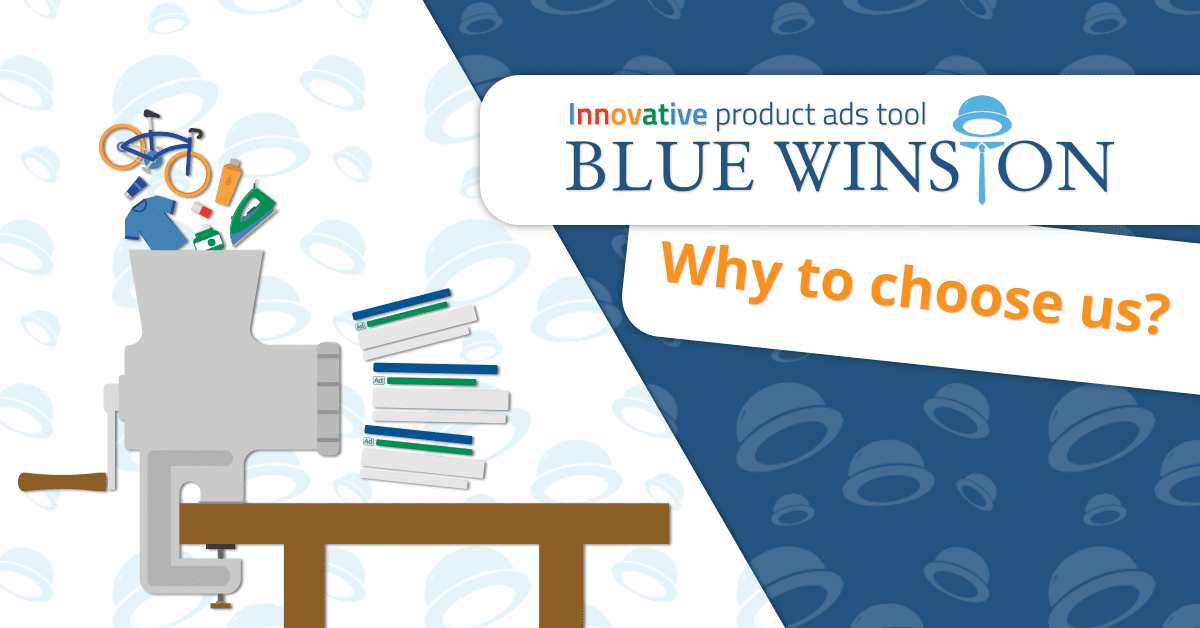 Why to choose BlueWinston as an product ads automation tool for Google Search advertisement