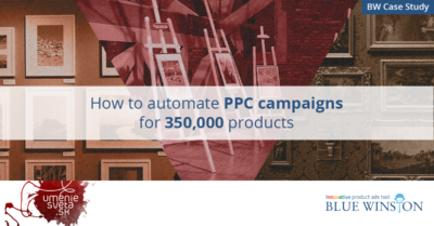 UmenieSveta.sk: How to Automate PPC Campaigns for 350,000 Products?