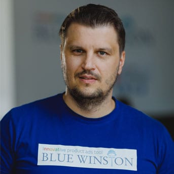 Juraj Bence - account manager at BlueWinston.com