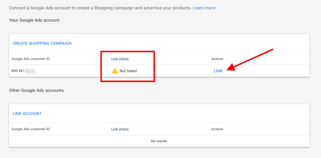 Link Google Ads And Google Merchant
