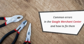 BW common errors in the google merchant center and how to fix them