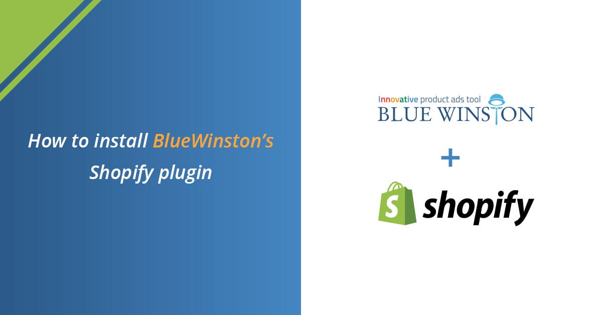 BW how to install bluewinston shopify plugin header
