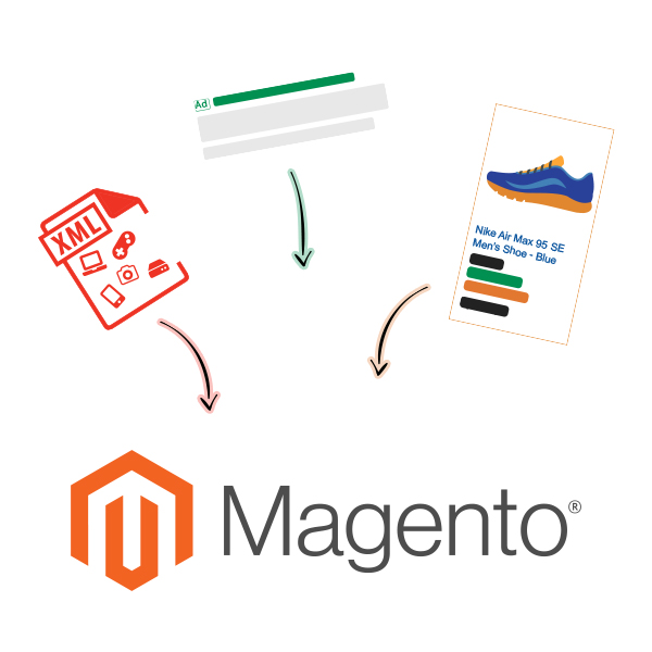 3 in 1 Magento product ads