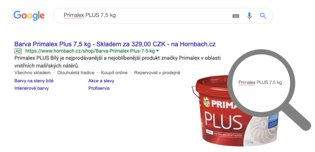 product ads example