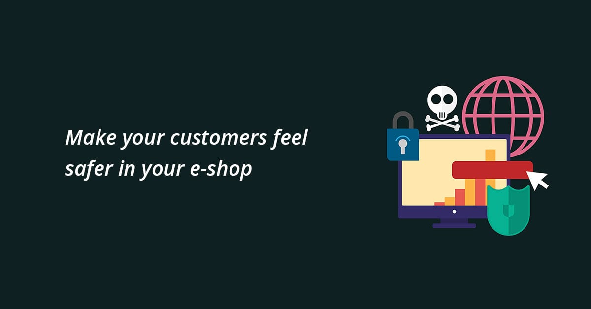 Secure eshop for customers