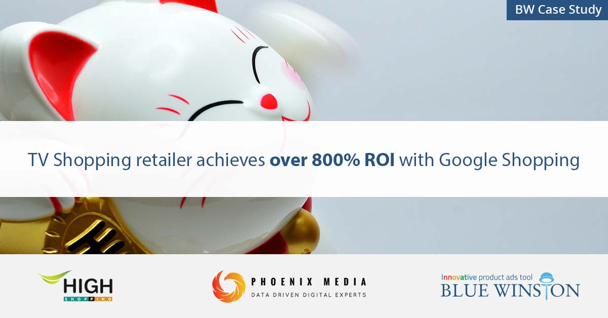TV Shopping retailer achieves over 800% ROI with Google Shopping