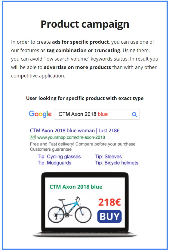 product campaign